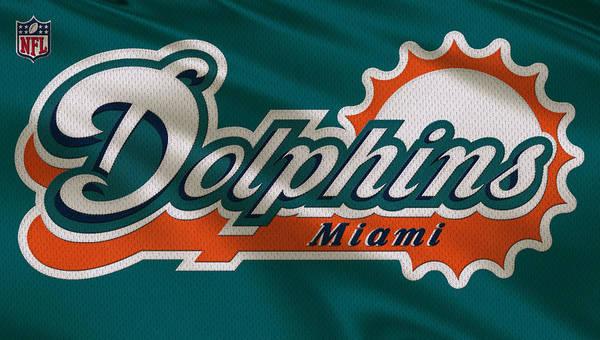 Miami Dolphins Uniform Poster