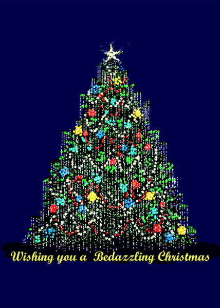 A Bedazzling Christmas Poster