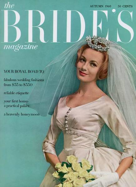 A Bride In A Ivory Wedding Dress Poster