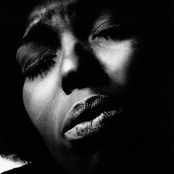 A Close-up Of Roberta Flack Poster