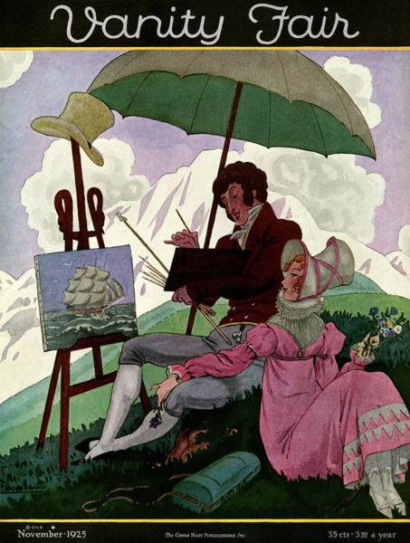 A Couple In Period Dress Poster
