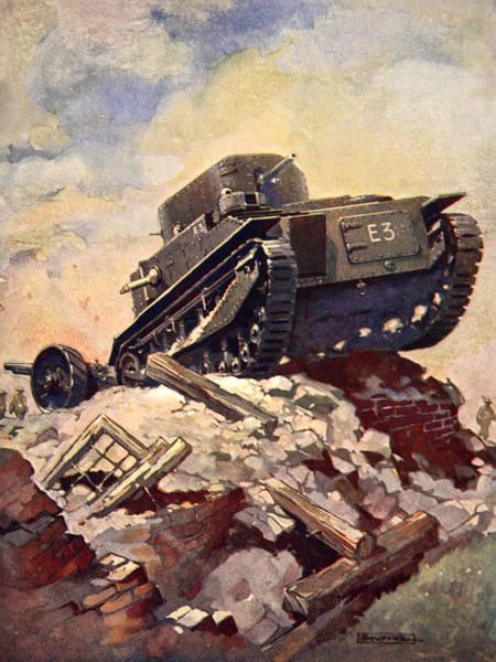 A First World War Tank Poster
