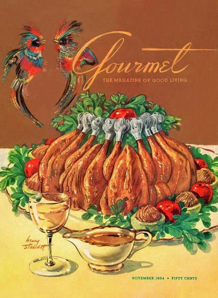 A Gourmet Cover Of Chicken Poster