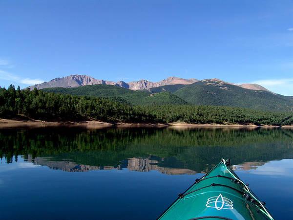 A Kayaking Calm Poster