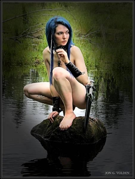 A Lake Sprite Poster
