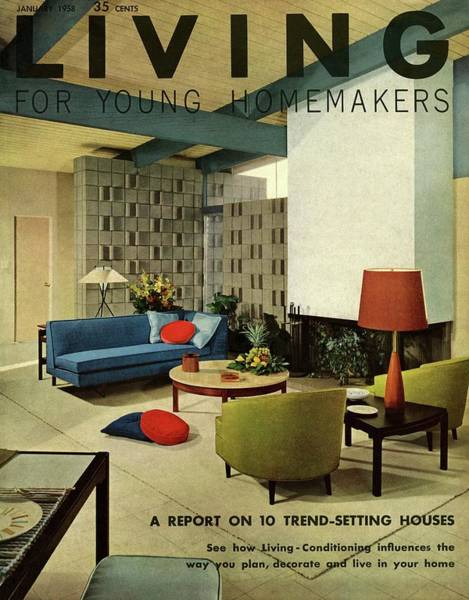 A Living Room With Carpeting By Callaway Poster