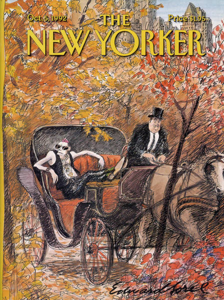 New Yorker October 5th, 1992 Poster