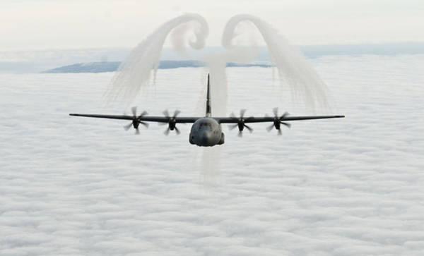 A U.s. Air Force C-130j Hercules Cargo Aircraft Poster