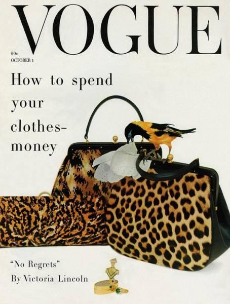 A Vogue Cover Of Nettie Rosenstein Handbags Poster