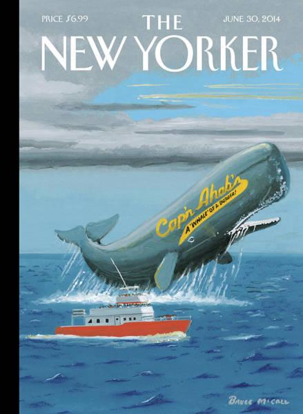 Capn Ahabs Poster