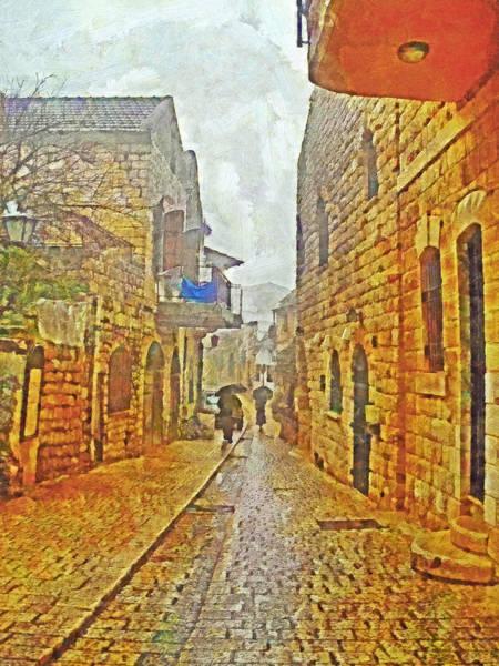 A Winter Morning In Haifa Poster