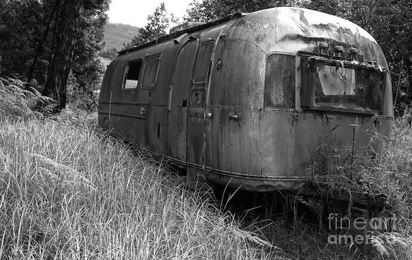 Abandoned Airstream In The Jungle Poster