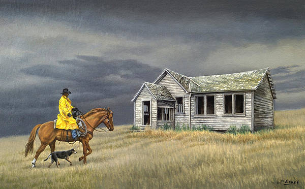 Abandoned Homestead-eastern Idaho Poster