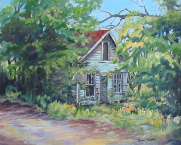 Abandoned House In Galivants Ferry Poster