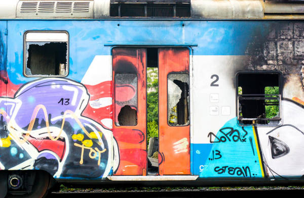 Abandoned Rail Car 2 Poster