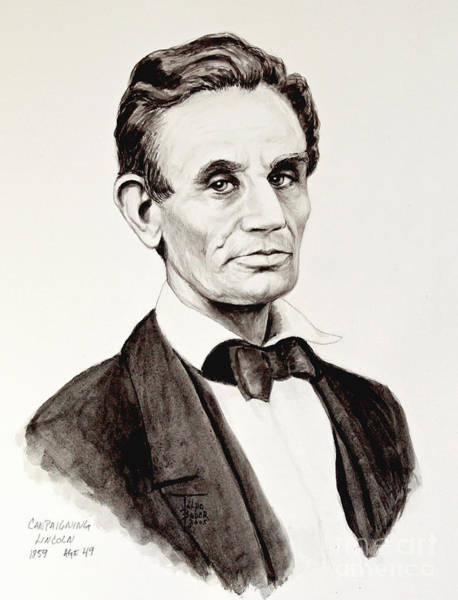 Abraham Lincoln At 49 Poster