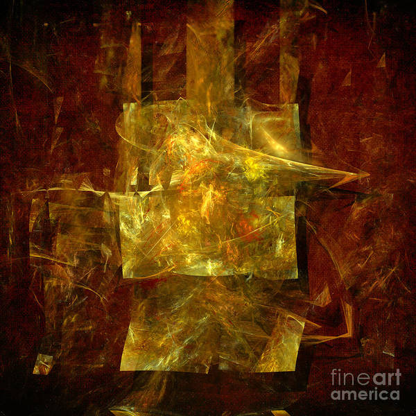 Abstract Energy Poster