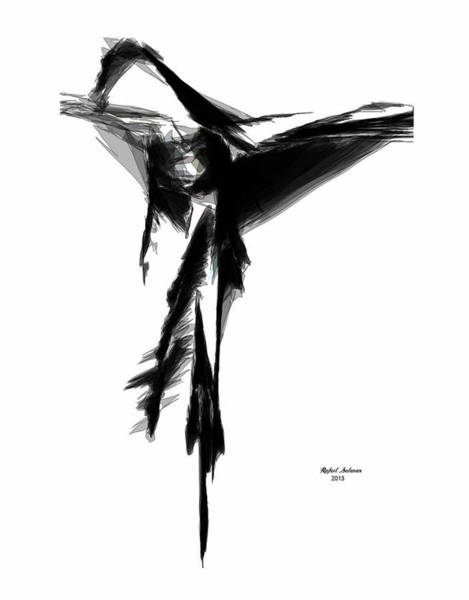 Abstract Flamenco Poster