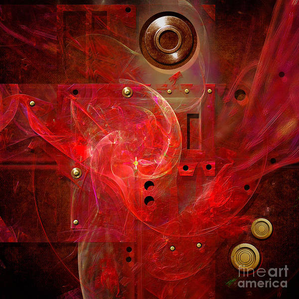Abstract Lady Poster