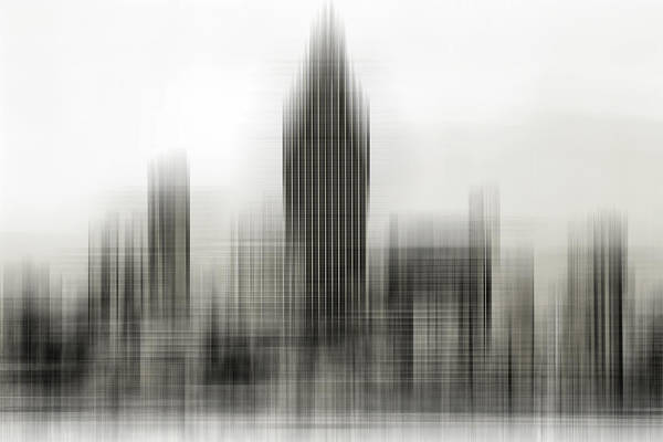 Abstract Skyline Poster