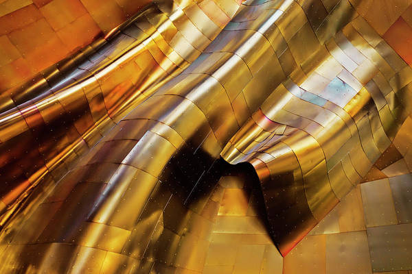 Abstract Steel Poster