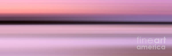 Abstract Sunset 1 Poster