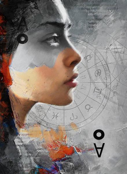 Abstract Tarot Art 019b Poster