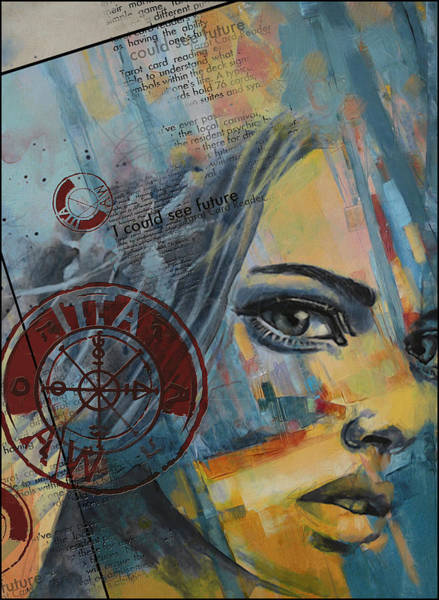 Abstract Tarot Art 022a Poster