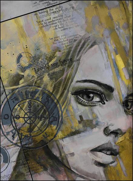 Abstract Tarot Art 022b Poster