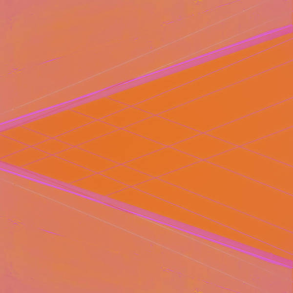 Abstraction In Pink Number 4 Poster