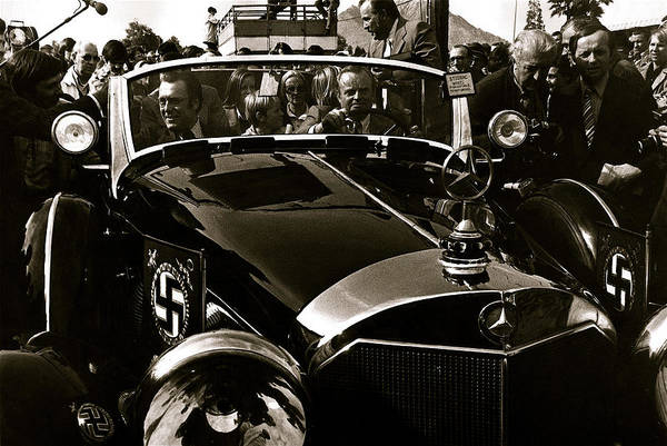 Adolf Hitler's 1941 Mercedes-benz 770-k Touring Car Sold At Auction Scottsdale Arizona 1973 Poster