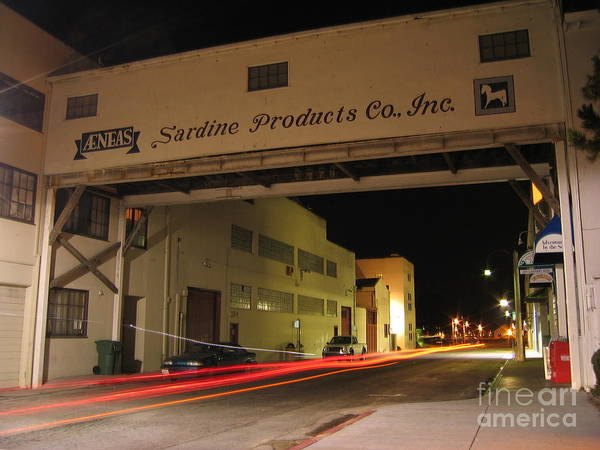 Aeneas Overpass On Cannery Row Poster