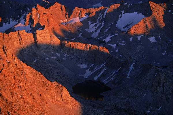 Aerial View Of Kings Canyon National Poster