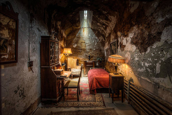Al Capone's Cell - Historical Ruins At Eastern State Penitentiary - Gary Heller Poster