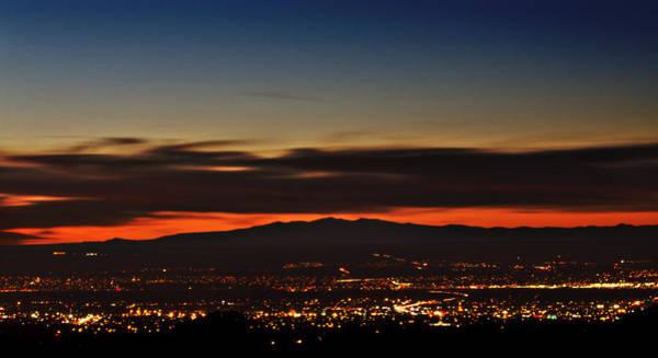 Albuquerque Sunset Poster