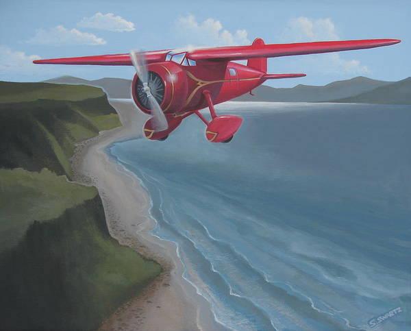 Amelia's Lockheed Vega Poster