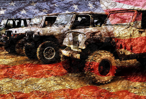 American Jeeps Poster