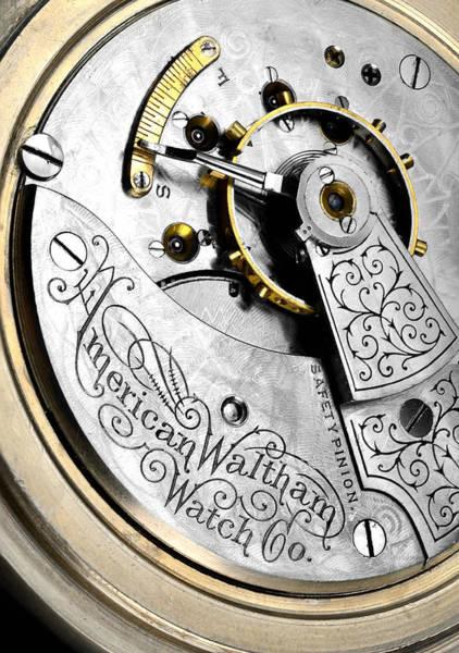 Antique Pocket Watch Poster