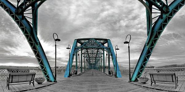 Amid The Bridge Poster