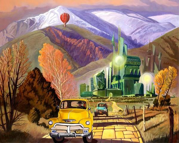 Trucks In Oz Poster