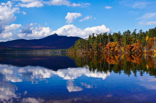 An Autumn Evening On Lake Chocorua Poster