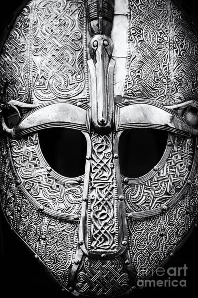 Anglo Saxon Helmet Poster