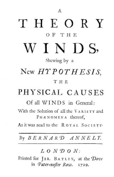 Annely's Theory Of The Winds Poster