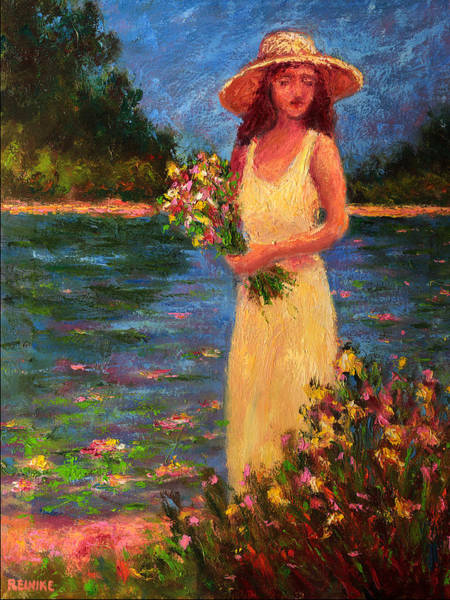 Anne's Garden Poster