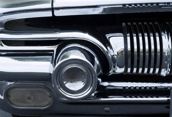 Antique Car Grill Poster