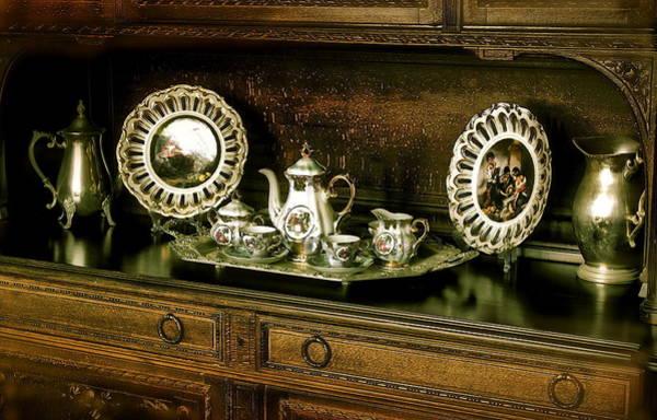 Antique Tea Set Poster