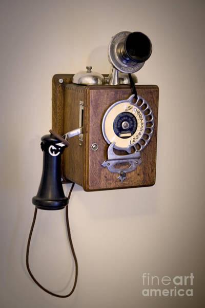 Antique Telephone Poster