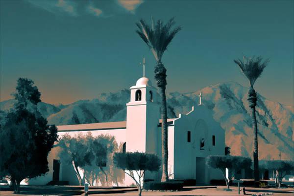 Anza Borrego Desert Church Poster