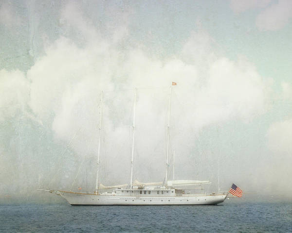Arabella On Newport Harbor Poster