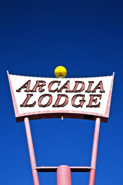Poster featuring the photograph Arcadia Lodge by Gigi Ebert